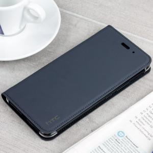 Cette superbe housse officielle HTC U11 combine à la fois une conception au look attrayant et professionnel avec une protection robuste et résistante dans le temps. Dotée d'une superbe finition en simili cuir et en coloris gris foncé, elle est l'option idéale pour protéger et profiter au mieux de votre HTC U11 au quotidien.