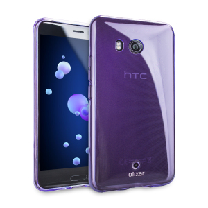 Custom moulded for the HTC U11 this purple FlexiShield case by Olixar provides slim fitting and durable protection against damage.