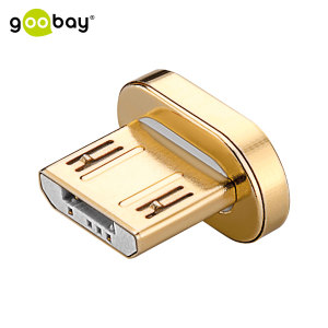 This part is ideal as a replacement Micro USB connector for your Goobay magnetic cable.