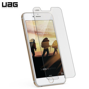 This tempered glass screen protector from UAG is guaranteed to protect your entire iPhone 7 / 6S / 6 from scratches, while retaining your phone's screen clarity and the original look of your iPhone.