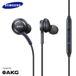 Enjoy your music with this official pair of Samsung Tuned By AKG In-Ear Stereo Headphones. With a built-in remote, this headset is ideal for music, podcasts and taking calls. This item is brand new and genuine, but does not come in retail box.