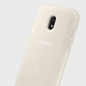 This official gold case for the Galaxy J3 2017 from Samsung offers two layers of protection in a sleek, elegant and super-modern form factor. Attractive, straightforward and sturdy, this is the ideal option for protecting your Galaxy J3 2017.