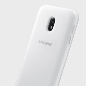 This official white case for the Galaxy J3 2017 from Samsung offers two layers of protection in a sleek, elegant and super-modern form factor. Attractive, straightforward and sturdy, this is the ideal option for protecting your Galaxy J3 2017.