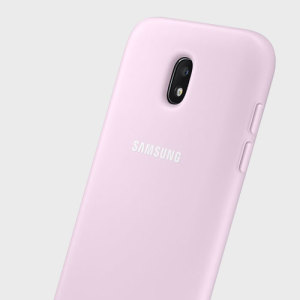 Protect your Samsung Galaxy J5 2017 with the official Dual Layer cover in pink from Samsung.