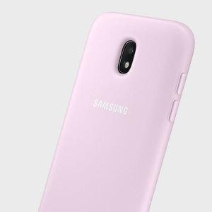 La coque officielle Dual Layer Cover en coloris rose offre deux couches de protection à votre Samsung Galaxy J5 2017. Dotée d'une finition moderne très élégante, elle a été conçue pour être simple et robuste, elle est l'option idéale pour protéger efficacement votre Samsung Galaxy J5 2017 au quotidien à la fois des rayures, des éraflures, et des chocs légers.
