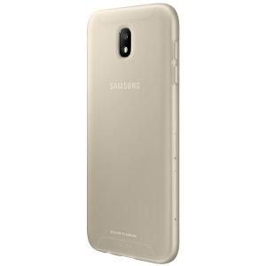 Dotée d'une conception fine, la coque Officielle Jelly Cover en coloris or n'ajoute aucun volume superflu à votre Samsung Galaxy J5 2017 et lui offre une protection optimale sans sacrifier son superbe design.