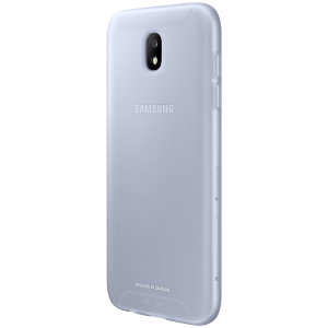 Slim-fitting and adding virtually no extra bulk, this official Samsung blue jelly case for the Galaxy J5 2017 offers protection without sacrificing form.
