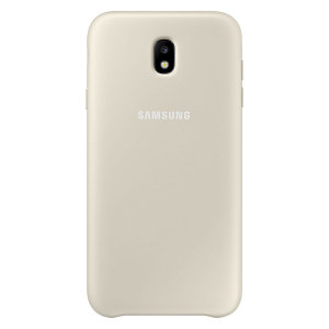 This official gold case for the Galaxy J7 2017 from Samsung offers two layers of protection in a sleek, elegant and super-modern form factor. Attractive, straightforward and sturdy, this is the ideal option for protecting your Galaxy J7 2017.