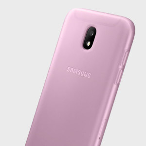 Slim-fitting and adding virtually no extra bulk, this official Samsung jelly case in pink for the Galaxy J7 2017 offers protection without sacrificing form.