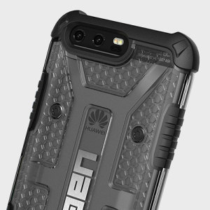 The Urban Armour Gear Plasma for the Huawei P10 features a protective TPU case in ice with a brushed metal UAG logo insert for an amazing design.