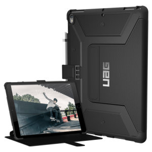 The UAG Cobalt Rugged Folio Case in black keeps your iPad Pro 10.5 protected with a lightweight, but highly protective honeycomb composite interior, with a tougher outer case, ensuring the perfect combination of style and security.