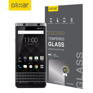 This ultra-thin tempered glass screen protector for the BlackBerry KeyONE offers toughness, high visibility and sensitivity all in one package.
