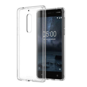 Protect your Nokia 5 from the knocks, scrapes and drops everyday life throws your way with this official clear silicone cover. This case adds virtually no bulk to your device, leaving the Nokia 5 as sleek and slim as on day one.