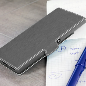 All the benefits of a wallet case but far more streamlined. The Low Profile in black is the perfect partner for the the Sony Xperia XA1 owner on the move. What's more, this case transforms into a handy stand to view media.