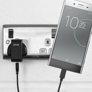 Charge your Sony Xperia XZ Premium and any other USB device quickly and conveniently with this compatible 2.5A high power USB-C UK charging kit. Featuring a UK wall adapter and USB-C cable.