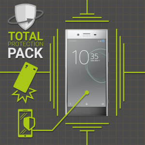 Guard your beautiful Sony Xperia XZ Premium from damage with the Olixar Total Protection Pack. Featuring a slim polycarbonate case and an ultra-response glass screen protector, this pack provides the ultimate in lightweight protection.