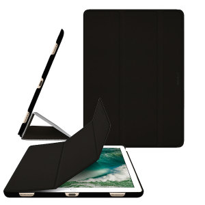 Made from a premium polyurethane, The Macally smart case in black provides a perfect fit every time that highlights the sleek design of your iPad Pro 12.9 2017. With an ultra-slim fit that's fully compatible with the Pro's sleep/wake function.