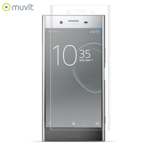 With superb screen protection and curved edges this premium tempered glass protector from Muvit is the perfect choice for the Sony Xperia XZ Premium.