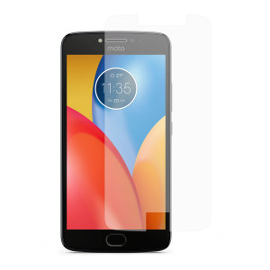 Keep your Motorola Moto E4 screen safe without compromising on sensitivity with this official tempered glass screen protector.
