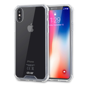 5e70c179c8 Olixar ExoShield Tough Snap-on iPhone X Case - Crystal Clear