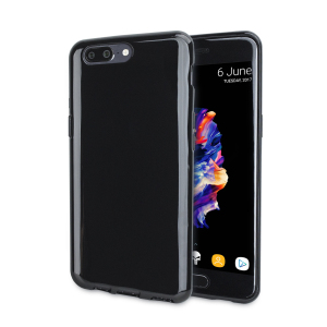 Custom moulded for the OnePlus 5, this Solid Black FlexiShield case provides a slim fitting and durable protection against damage, with an alluring jet black appearance.