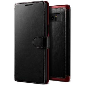 The VRS Design Dandy Wallet Case in black for the Samsung Galaxy Note 8 comes complete with card slots, a large document pocket and is made with a luxurious leather-style material for a classic, prestige and professional look.