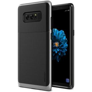 Protect your Samsung Galaxy Note 8 with this precisely designed high pro shield series case in steel silver from VRS Design. Made with tough dual-layered yet slim material, this hardshell body with a sleek bumper features an attractive two-tone finish.