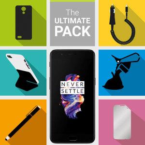 Das Ultimate Pack für das OnePlus 5 besteht aus fantastischen Muss haben Zubehör speziell für das OnePlus 5 entwickelt.