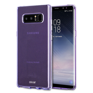 Custom moulded for the Samsung Galaxy Note 8. This purple Olixar FlexiShield case provides a slim fitting stylish design and durable protection against damage, keeping your device looking great at all times.