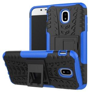 Protégez votre Samsung Galaxy J5 2017 des chocs et des éraflures grâce à cette coque Olixar ArmourDillo en coloris bleu. Cette coque est composée d'un boîtier interne en TPU et d'un exosquelette externe résistant aux impacts. Elle comprend par ailleurs un support de visualisation intégré.