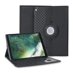 Découvrez et protégez votre iPad Pro 10.5 à l'aide de cette superbe et ingénieuse housse Olixar Luxury en coloris noir. Pratique, elle permet un positionnement facile de votre iPad Pro 10.5 soit en mode portrait, soit en mode paysage. La housse comprend des emplacements dédiés au rangement de vos différentes cartes et comme si cela ne suffisait pas, la housse comprend une coque détachable pour voyager léger.
