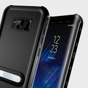 Protect your Samsung Galaxy S8 from the elements with the rugged waterproof Aqua case from KSIX. With an ultra-thin window for interacting with your phone while in the case, the Aqua is the ultimate option for adventurers and introverts alike.