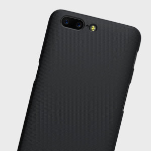 Nillkin Super Frosted Shield OnePlus 5 Shell Case - Black