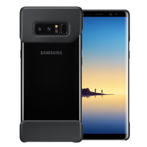 The official Pop Cover case for Samsung Galaxy Note 8 in black consists of two ergonomic, easy-to-attach geometric shapes which bookend your Galaxy Note 8, adding a unique style and offering superior drop protection.