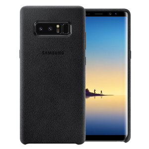 Protect your Samsung Galaxy Note 8 with this Official Alcantara case in black. Stylish and protective, this case is the perfect accessory for your Note 8.