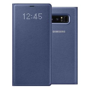 Añada protección a su Samsung Galaxy Note 8 y manténgase al día de las principales notificaciones sin necesidad de abrir la tapa, gracias a sus LEDs integrados en la tapa delantera. Se trata de un producto oficial de Samsung.