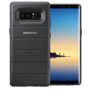 Cette coque Officielle Protective Cover transparente a été spécialement conçue pour votre Samsung Galaxy Note 8. Elle le protégera au quotidien contre les rayures et les éraflures.