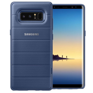 This Official Samsung Protective cover in deep blue is the perfect accessory for your Galaxy Note 8 smartphone.