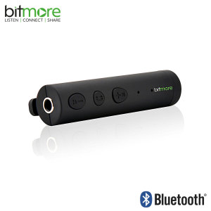 Turn any speaker, headphones or earphones with a 3.5mm jack into a wireless music receiver with the slim and stylish Audio Buddy Bluetooth adapter from Bitmore.