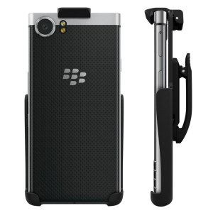 Seidio's Spring Clip Holster has been refined from years of customer feedback and advances in technology. A durable spring clip holds your uncased BlackBerry KEYone securely in place, and then lifts for quick access.