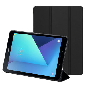 This slim stand case offers premium protection for your entire Samsung Galaxy Tab S3 in a sleek, slender and elegant form. Featuring an ingenious folding front cover which doubles as a viewing stand - perfect for media, gaming and more.