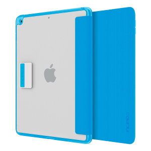 Protection meets finesse in this elegant, stylish blue folio case for iPad 2017 from Incipio. Combining a durable, resilient construction with an effortless aesthetic and a stand function to boot, this is the perfect case for working or relaxing.