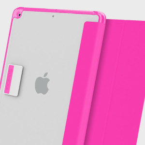 Protection meets finesse in this elegant, stylish pink folio case for iPad 2017 from Incipio. Combining a durable, resilient construction with an effortless aesthetic and a stand function to boot, this is the perfect case for working or relaxing.