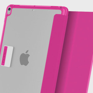 Protection meets finesse in this elegant, stylish pink folio case for iPad Pro 10.5 from Incipio. Combining a durable, resilient construction with an effortless aesthetic and a stand function to boot, this is the perfect case for working or relaxing.