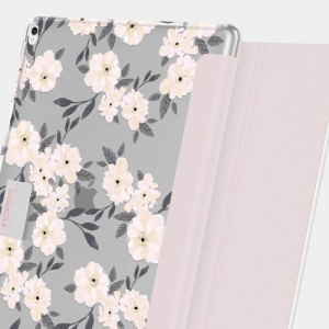 Protection meets finesse in this elegant, stylish floral folio case for iPad Pro 12.9 2017 / 2015 from Incipio. Combining a durable, resilient construction with an intricate design and a stand function, this is the perfect case for working or relaxing.