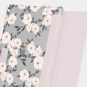 La protección se une a la delicadeza en este elegante estuche folio para iPad Pro 12,9 2017/2015 de Incipio. Combinando una construcción resistente con un diseño intrincado y una función de soporte, esta es la funda perfecta para trabajar o relajarse.