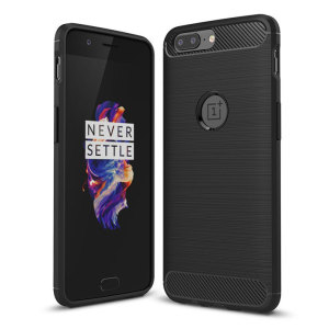 This slim, sleek Olixar case for the OnePlus 5 sports a smooth, tactile brushed metal and carbon fibre-effect design while also offering superior protection from surface damage.