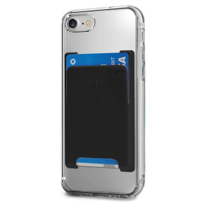Minimize your pocket weight with ideal and simplistic Ringke Slot Card Holder for a clean and refined way to carry your best used card or ID anywhere you like.