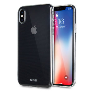 Olixar Ultra-Thin iPhone X Deksel - 100% Klar