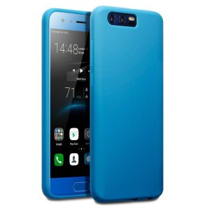 Custom moulded for the Huawei Honor 9, this translucent blue FlexiShield case by Olixar provides slim fitting and durable protection against damage.